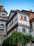 Vieille maison dans Marktbreit, Allemagne images stock