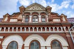 Vieille maison dans une ville fantôme provinciale Images stock