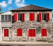 Vieille maison de bahama Image libre de droits