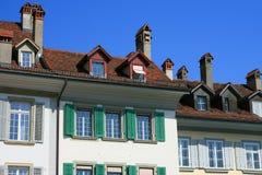 Vieille maison de Berne Photographie stock libre de droits