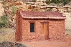 Vieille maison de brique Image libre de droits
