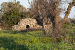 Vieille maison de campagne dans Salento Photo stock