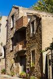 Vieille maison de Campidanese Images libres de droits