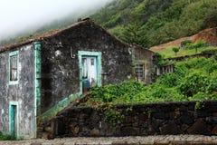 Vieille maison de fermiers aux Açores photos libres de droits