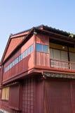 Vieille maison de Geisya au district de chaya de Higashi, Photos libres de droits