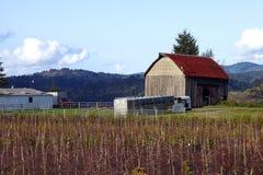 Vieille maison de grange. Image stock