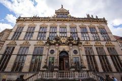 Vieille maison de guilde en Allemagne photo libre de droits