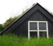 Vieille maison de l'Islande Images libres de droits