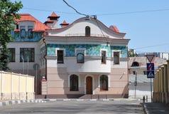 Vieille maison de Moscou Images stock