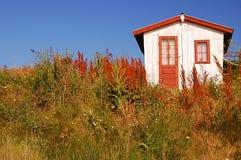 Vieille maison de pêcheur Image libre de droits
