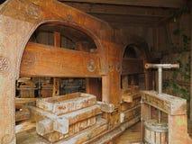 Vieille maison de pressoir à vin image libre de droits