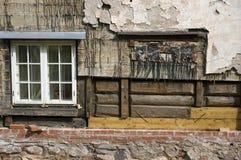 Vieille maison de rénovation Photo stock
