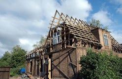 Vieille maison de rénovation Photos libres de droits