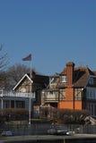 Vieille maison de shoreside photographie stock