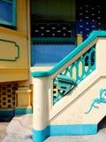 Vieille maison de style de Peranakan d'héritage, Singapour photos libres de droits