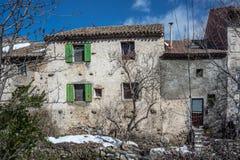 Vieille maison de ville Photo stock