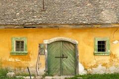 Vieille maison de vin dans Etyek, Hongrie photos libres de droits