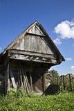 Vieille maison en bois Image libre de droits