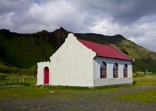 Vieille maison en Islande du sud Image libre de droits