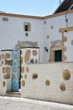 Vieille maison en Rhodes Photo libre de droits