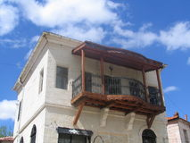 Vieille maison grecque images stock