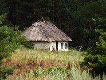 Vieille maison inhabitée Images libres de droits