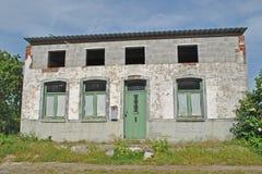 Vieille maison laide Photo libre de droits