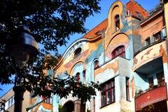 Vieille maison peinte Images stock