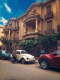 Vieille maison pendant le matin photo libre de droits