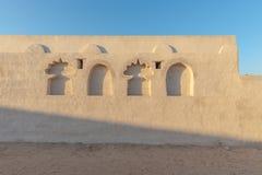 Vieille maison rénovée, Ras Al Khaimah photo stock