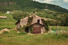 Vieille maison ruinée Image libre de droits