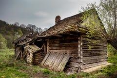 Vieille maison ruinée Photographie stock libre de droits