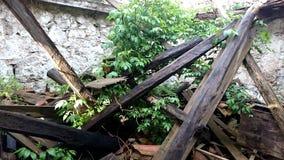 Vieille maison ruinée Photos stock