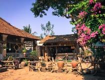 Vieille maison rurale dans Phu Yen, Vietnam Image stock