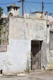 Vieille maison sur Rhodes Photographie stock