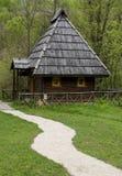 Vieille maison traditionnelle photographie stock libre de droits