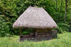 Vieille maison traditionnelle Images libres de droits