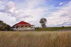Vieille maison traditionnelle de Queenslander Image stock