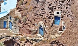 Vieille maison traditionnelle de Santorini Image libre de droits
