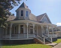 Vieille maison unique dans Thibodaux, LA Photo libre de droits
