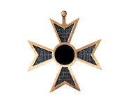 Vieille médaille Image stock