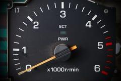Vieille mesure de voiture Image libre de droits