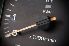 Vieille mesure de voiture Image stock
