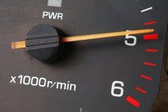 Vieille mesure de voiture Images stock