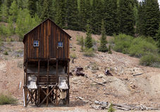 Vieille mine abandonnée Photos stock
