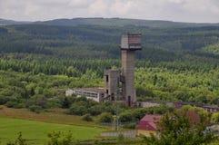 Vieille mine abandonnée Images libres de droits