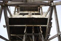 Vieille mine de colline cassée Images stock