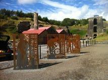 vieille mine de gallois Photo libre de droits