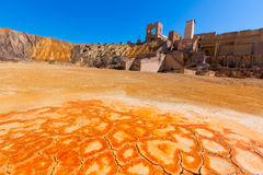 Vieille mine de Mazarron Murcie en Espagne Image libre de droits