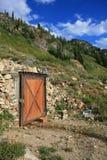 Vieille mine de montagne Photographie stock libre de droits